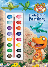 Prehistoric Paintings (Dinosaur Train) Cover