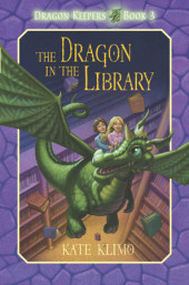 Dragon Keepers #3: The Dragon in the Library Cover