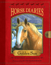 Horse Diaries #5: Golden Sun Cover