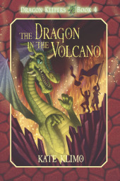 Dragon Keepers #4: The Dragon in the Volcano Cover