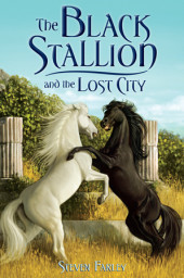 The Black Stallion and the Lost City Cover
