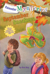 Calendar Mysteries #9: September Sneakers Cover