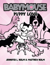 Babymouse #8: Puppy Love Cover