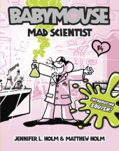 Babymouse #14: Mad Scientist Cover