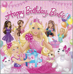Happy Birthday Barbie! (Barbie)