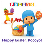 Happy Easter, Pocoyo (Pocoyo)