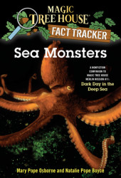 Magic Tree House Fact Tracker #17: Sea Monsters Cover