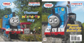 Thomas' Mixed-Up Day/Thomas Puts the Brakes On (Thomas & Friends) Cover