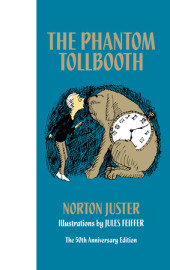 The Phantom Tollbooth 50th Anniversary Edition Cover