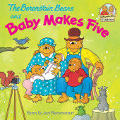 The Berenstain Bears and Baby Makes Five Cover