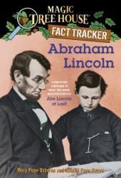 Magic Tree House Fact Tracker #25: Abraham Lincoln Cover