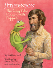 Jim Henson: The Guy Who Played with Puppets Cover