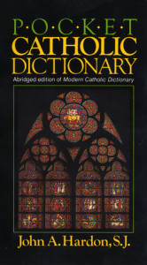Pocket Catholic Dictionary Cover