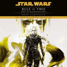 Rule of Two: Star Wars (Darth Bane) Cover