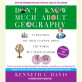 Don't Know Much About Geography: Revised and Updated Edition by Kenneth C. Davis