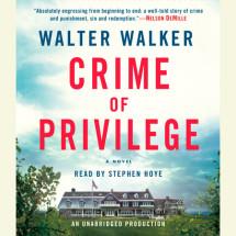 Crime of Privilege Cover