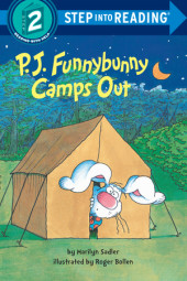 P. J. Funnybunny Camps Out Cover