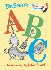 Dr. Seuss's ABC: An Amazing Alphabet Book! Cover
