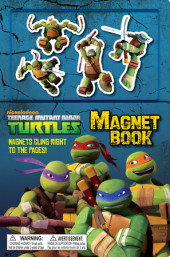 Teenage Mutant Ninja Turtles Magnet Book (Teenage Mutant Ninja Turtles)