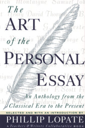 The Art of the Personal Essay Cover