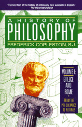 History of Philosophy, Volume 1 Cover