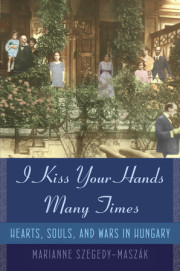 Enter for a chance to win I KISS YOUR HANDS MANY TIMES by Marianne Szegedy-Maszák