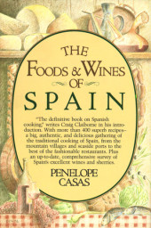 The Foods and Wines of Spain Cover