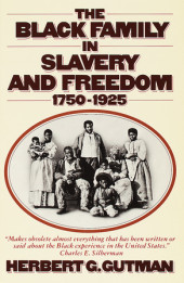 The Black Family in Slavery and Freedom, 1750-1925 Cover