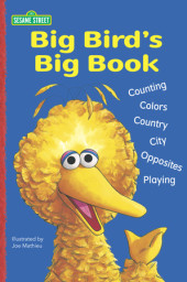 Big Bird's Big Book (Sesame Street) Cover