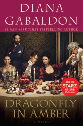 Dragonfly in Amber Cover