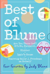 Best of Judy Blume 4 Copy Box Set Cover