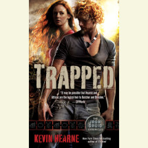 Trapped (The Iron Druid Chronicles, Book Five) Cover