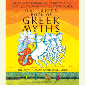 D'Aulaires Book of Greek Myths Cover