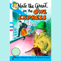 Nate the Great on the Owl Express Cover