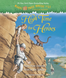 Magic Tree House #51: High Time for Heroes Cover