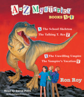 A to Z Mysteries: Books S-V Cover