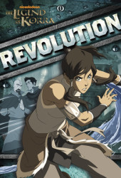 Revolution (Nickelodeon: Legend of Korra) Cover