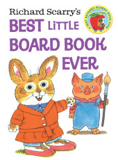 Richard Scarry's Best Little Board Book Ever (Richard Scarry) Cover