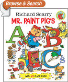 Richard Scarry Mr. Paint Pig's ABC's (Richard Scarry)