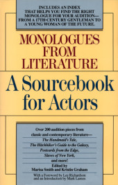 Monologues from Literature Cover