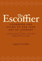 The Escoffier Cookbook Cover