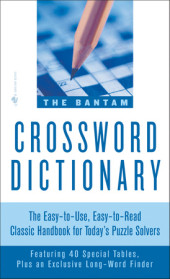 The Bantam Crossword Dictionary Cover