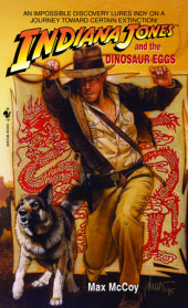 Indiana Jones and the Dinosaur Eggs Cover