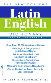 The Bantam New College Latin & English Dictionary, Revised Edition Cover