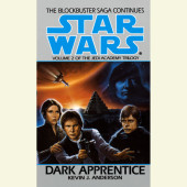 Dark Apprentice: Star Wars (The Jedi Academy) Cover