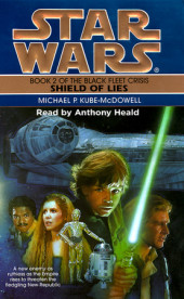 Shield of Lies: Star Wars (The Black Fleet Crisis) Cover