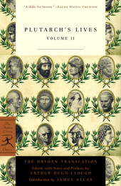 Plutarch's Lives, Volume 2 Cover