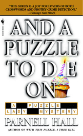 And a Puzzle to Die On Cover