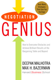 Negotiation Genius Cover