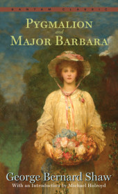 Pygmalion and Major Barbara Cover